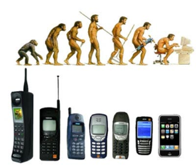 The Theory of Mobile Phone Evolutions